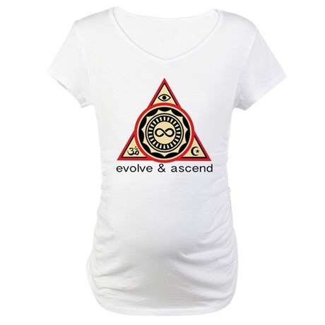 Evolve and Ascend Maternity T-Shirt