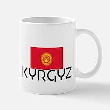 I HEART KYRGYZ FLAG Mug