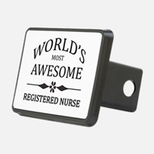 World's Most Awesome Registered Nurse Hitch Cover