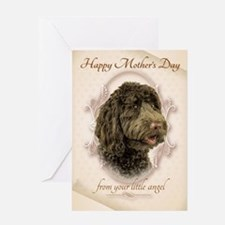 Funny Labradoodle Mom's Day Card