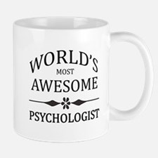 World's Most Awesome Psychologist Mug