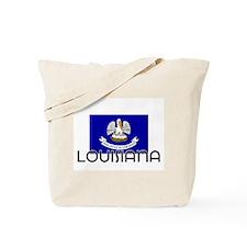 I HEART LOUISIANA FLAG Tote Bag