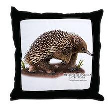 Short-Beaked Echidna Throw Pillow