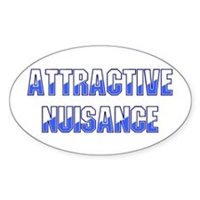 Attractive Nuisance (Blue) Decal