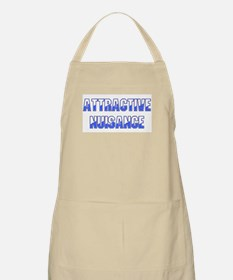 Attractive Nuisance (Blue) Apron