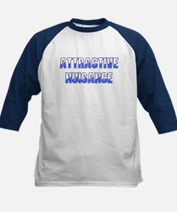 Attractive Nuisance (Blue) Baseball Jersey