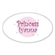 Iyanna Oval Decal