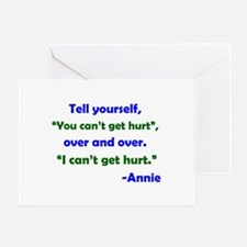 Can't Get Hurt Greeting Card