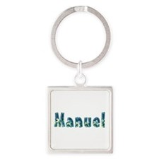 Manuel Under Sea Square Keychain