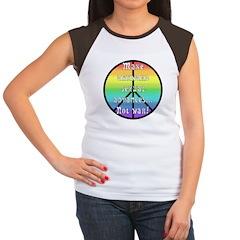 Make ASA not War! Women's Cap Sleeve T-Shirt
