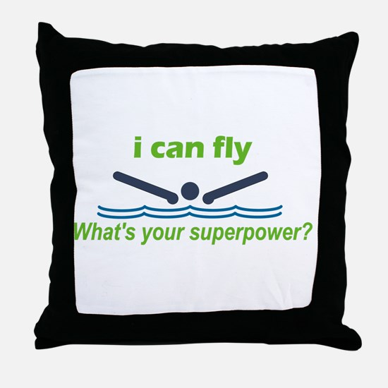 iFly.png Throw Pillow