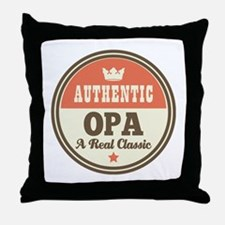 Classic Opa Throw Pillow
