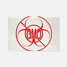 NO GMO Biohazard Warning Toxic Food Sign Rectangle