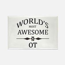 World's Most Awesome OT Rectangle Magnet (10 pack)