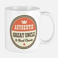 Classic Great Uncle Small Small Mug
