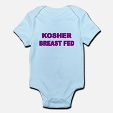KOSHER BREAST FED 2 Body Suit
