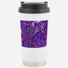 Extra Wild Paisley Purple Travel Mug