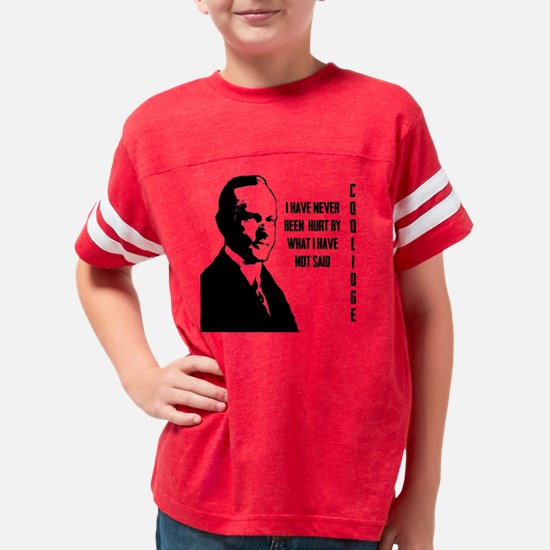 Calvin Coolidge Youth Football Shirt