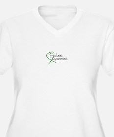 Scoliosis Awareness Plus Size T-Shirt