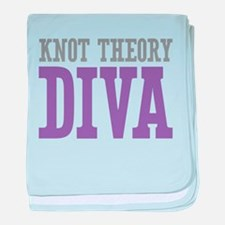 Knot Theory DIVA baby blanket