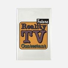 Future Reality TV Contestant Rectangle Magnet