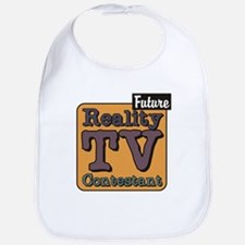Future Reality TV Contestant Bib