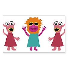 Mahna Mahna Bumper Stickers