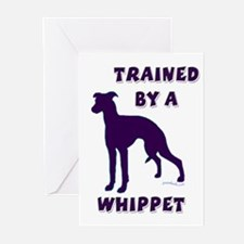 Whippet Ppl Greeting Cards (Pk of 10)
