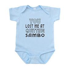 Sambo Martial Arts Designs Infant Bodysuit