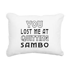 Sambo Martial Arts Designs Rectangular Canvas Pill