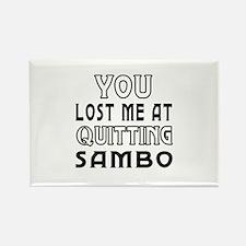 Sambo Martial Arts Designs Rectangle Magnet