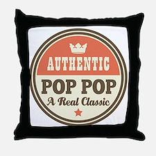 Classic Pop Pop Throw Pillow