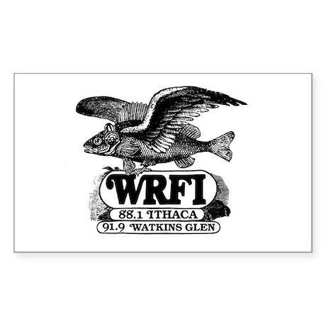 WRFI Flying Fish Sticker
