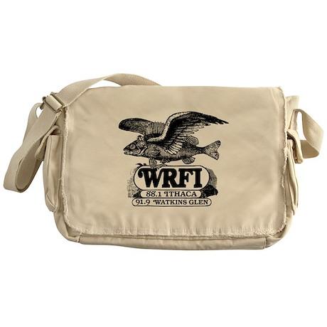 WRFI Flying Fish Messenger Bag
