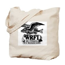 WRFI Flying Fish Tote Bag