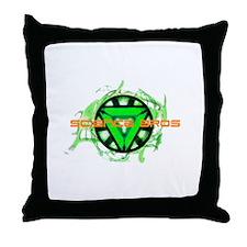 Science Bros Throw Pillow