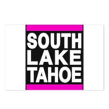 south lake tahoe 1 pink Postcards (Package of 8)
