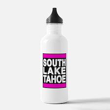 south lake tahoe 1 pink Water Bottle