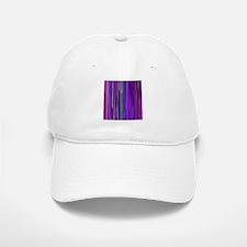 Purple Stripes Baseball Baseball Baseball Cap