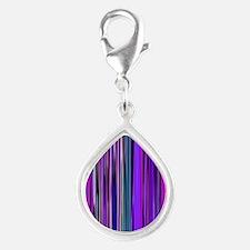 Purple Stripes Charms