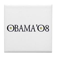 Obama in '08 Tile Coaster