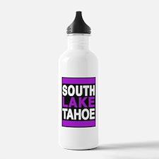 south lake tahoe 2 purple Water Bottle