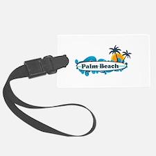 Palm Beach - Surf Design. Luggage Tag