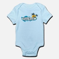 Palm Beach - Surf Design. Infant Bodysuit