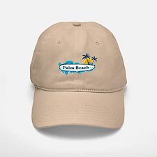 Palm Beach - Surf Design. Baseball Baseball Cap