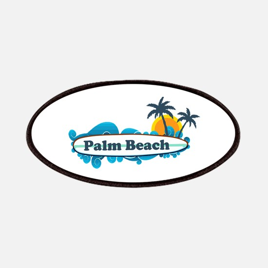 Palm Beach - Surf Design. Patches