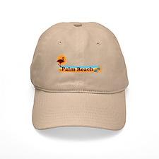 Palm Beach - Beach Design. Baseball Cap
