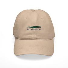Palm Beach - Alligator Design. Baseball Cap