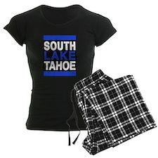 south lake tahoe 2 blue Pajamas