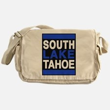 south lake tahoe 2 blue Messenger Bag